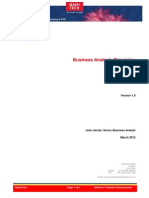 Business Analysis Principles