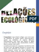 RELAÇÕES ECOLOGICAS