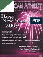 American Atheist Magazine Jan 2009