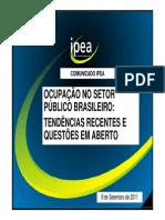 Ocupacao No Setor Publico Brasileiro 2011 Apresentacao