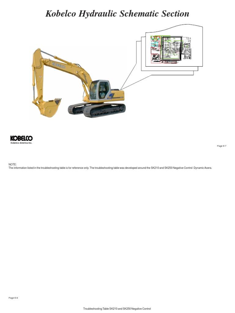 kobelco esquemas hidr ulicos sk210 y sk330 pump valve rh scribd com Electrical Wiring Diagrams Ezgo Wiring Diagram