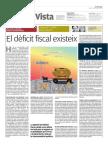 El dèficit fiscal existeix