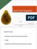 Fossil Fuels Depletion1