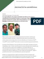 El Falso Mito Fundacional de Las Autodefensas de Los Castaño