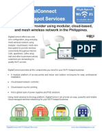 DigitalConnect Wi-Fi Hotspot Services Brochure