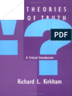 [Richard L. Kirkham] Theories of Truth a Critical