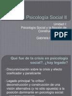 Unidad I Socioconstruccionismo