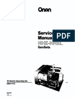 940-0502 Onan NHE Service Manual