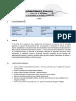Syllabus Calc 2011-2