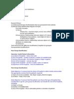 Project Descriptions - My Database