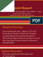 assessment report for nov 12 board meeting 1