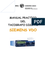 Manual Tacografo Digital Siemensa