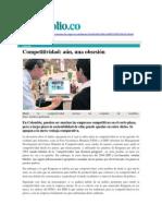 2014 11 Lombana Competitividad Aún Una Obsesión - Portafolio