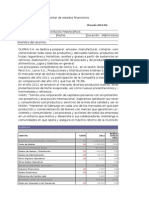 AEFGEN1_2014-02_Análisis Vertical y Horizontal_Gloria S.A
