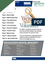 MDA November Newsletter