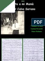 Carta a mi Mamá - por Cesar Calvo Soriano