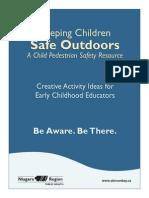 Keeping Children Safe Outdoors Activities