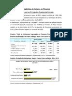 Estadística de Turismo en Panamá