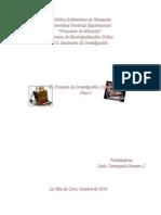 EEl proyecto de Investigacion Comunitaria, Basado en Véliz, Arnold (2014)