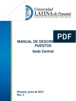 Sede Central Manual de Puestos 02-07-12