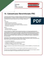 15. Calcestruzzo Fibrorinforzato FRC