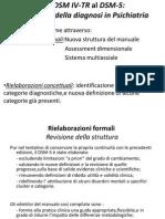 DSM v Differenze Con DSM IV