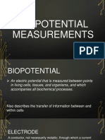 BIOPOTENTIAL MEASUREMENTS