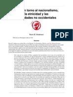 Kevin B. Anderson - Marx en Torno Al Nacionalismo, La Etnicidad y Las Sociedades No Occidentales