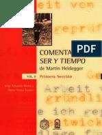 Comentario a Ser y Tiempo de Martin Heidegger (Vol.2 Primera Sección) - Jorge Eduardo Rivera y María Teresa Stuven