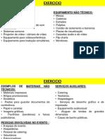 Eventos - Enquadramento Do Planeamento de Recursos