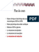 Cours 4 - Traduction