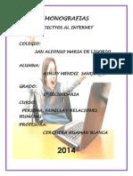 Adicto Al Internet Monografias