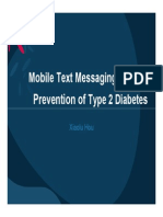 graduate research methods mobile text messaging for t2dm prevention study design presentation - xhou