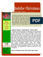 Christmas 2011 Newsletter