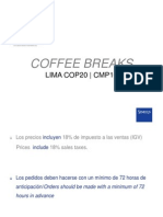 Catering Catalog Venue COP20