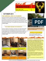 e  edwards  october 2014 newsletter el fenix ministries