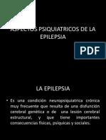 Aspectos Psiquiatricos de La Epilepsia
