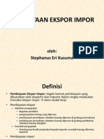Pembiayaan Ekspor Impor