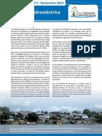 BoletBoletín presenta especial sobre el proyecto de la Central Hidroeléctrica Mazán en Loreto
