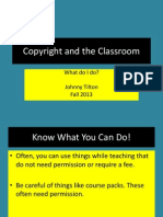 copyright and the classroom