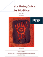 Revista Patagónica de Bioética N° 1