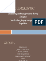 Psycholinguistic