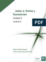 Calculo Avanzado - Series y Sucesiones
