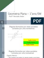 Geometria Plana – 1°ano