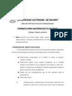 Formato p Anteproyecto de Tesis Empirico-Analítico