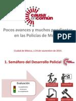 Pendientes Policías de México