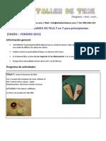 Manualidades 7 en 7 Verano 2015