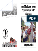 The Nature of the Communist States Price