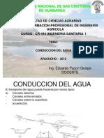 Clase n 04-Conduccion Del Agua