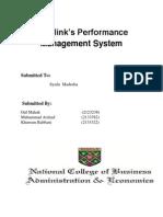 Mobilink Performance Management